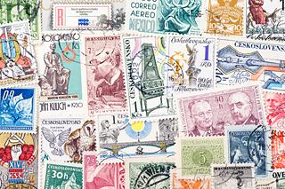 チェコの使用済み切手