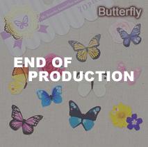 フェイバリットシール/butterfly