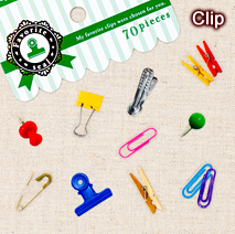 フェイバリットシール 第5弾/Clip