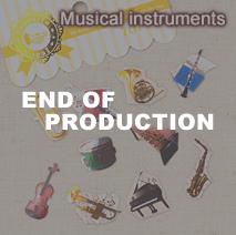 フェイバリットシール 第5弾/Musical instruments