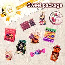 フェイバリットシール/sweet package