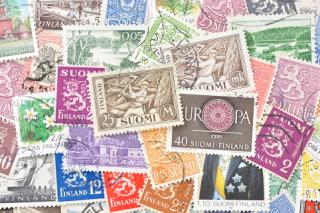 フィンランドの使用済み切手