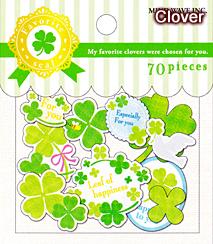 フェイバリットシール/clover