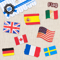フェイバリットシール/flag