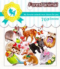 フェイバリットシール/forest animal