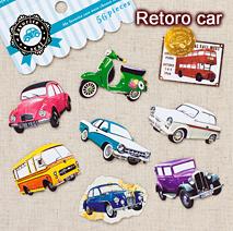 フェイバリットシール/retro car