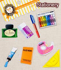 フェイバリットシール/Stationery