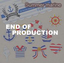 サマーフェイバリットシール/Summer marine