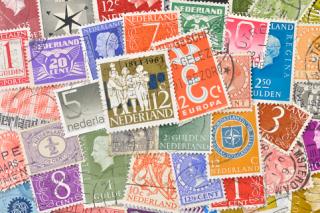 オランダの使用済み切手