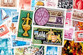 ハンガリーの使用済み切手
