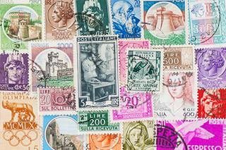 イタリアの使用済み切手