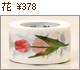 カモ井加工紙のマスキングテープ/mt ex 花