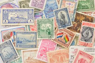 パラグアイの使用済み切手