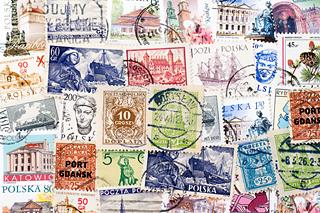 ポーランドの使用済み切手
